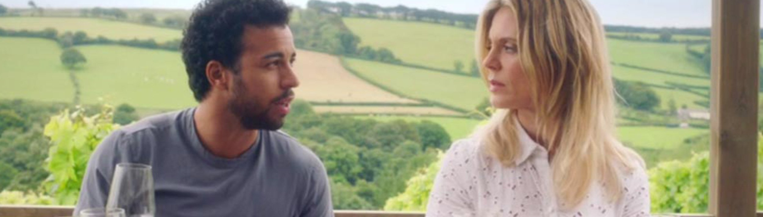 Sky One's Delicious filming in the vineyard feature