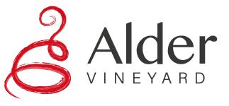 Alder vineyard logo type