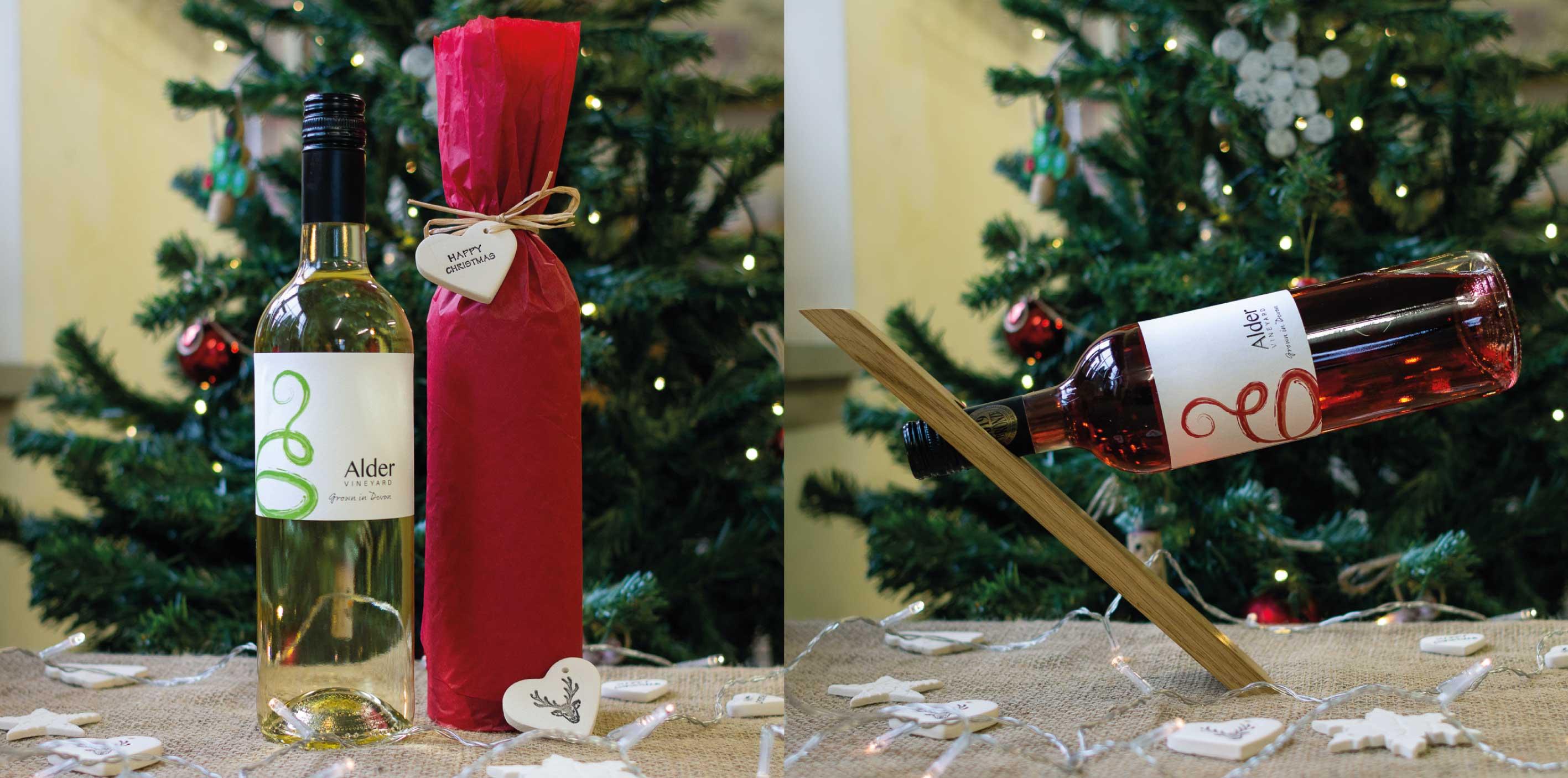 Buy local wine this Christmas at Alder Vineyard