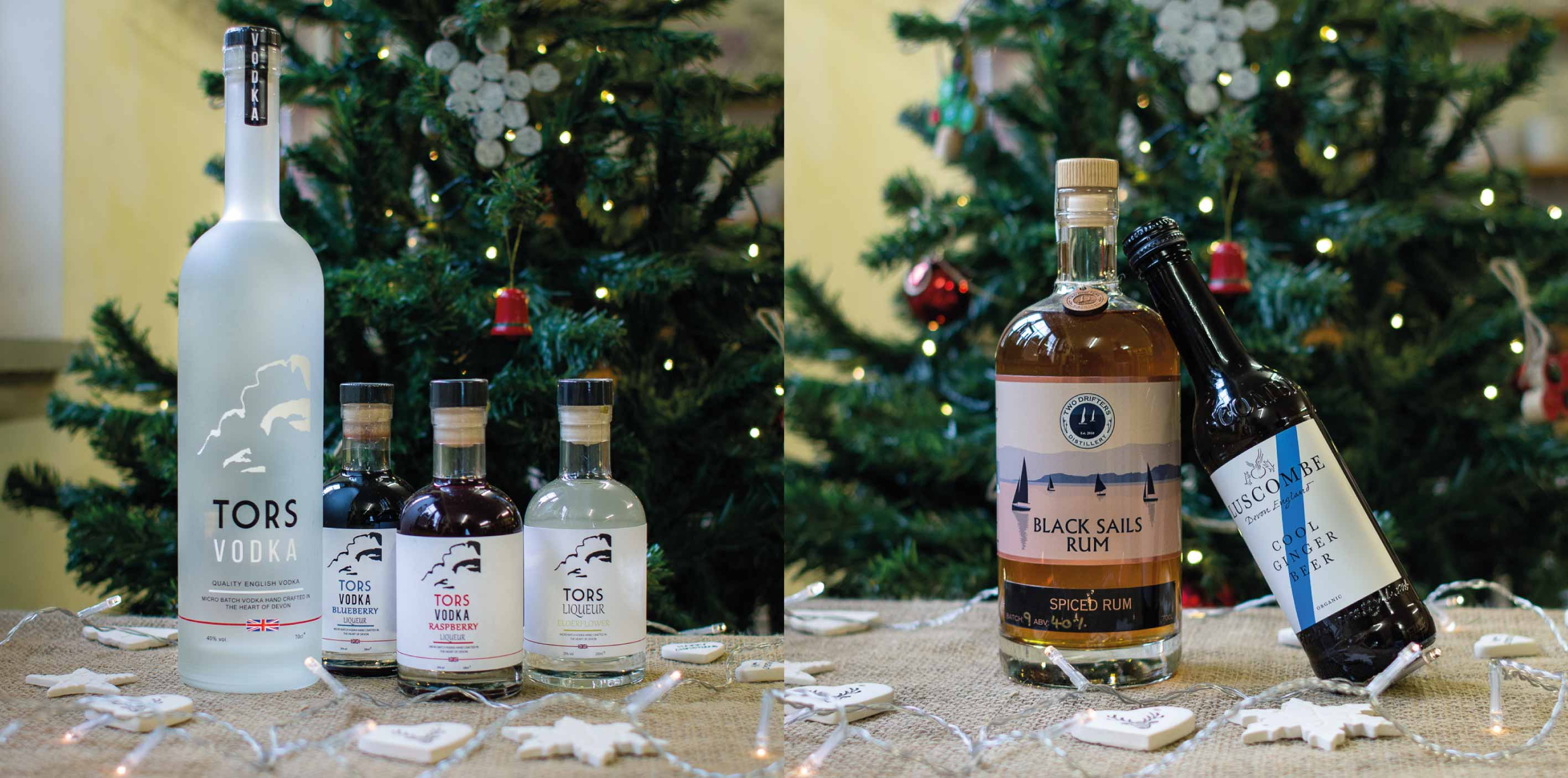 Buy local vodka & rum this Christmas at Alder Vineyard