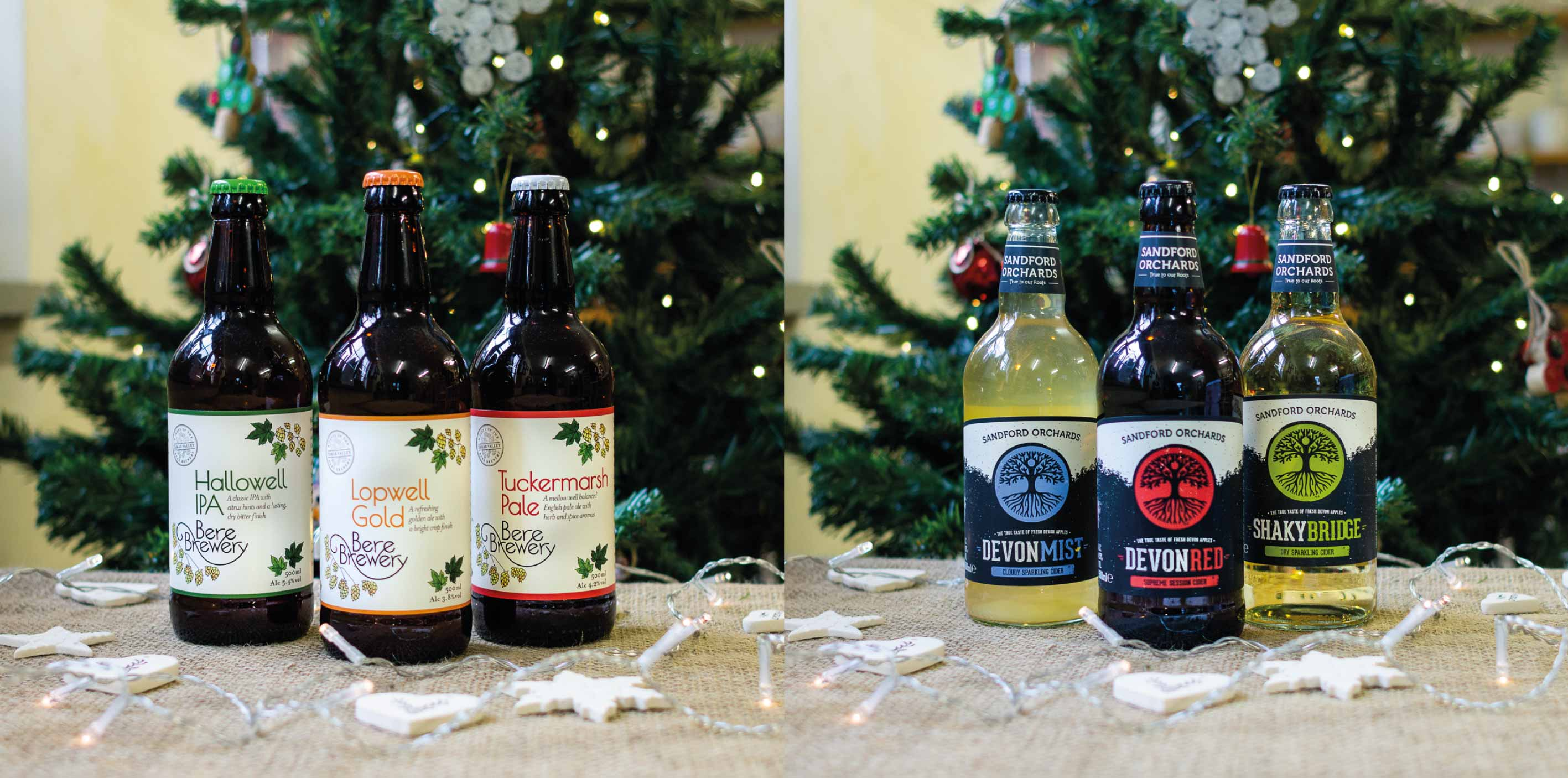 Buy local beer & cider this Christmas at Alder Vineyard