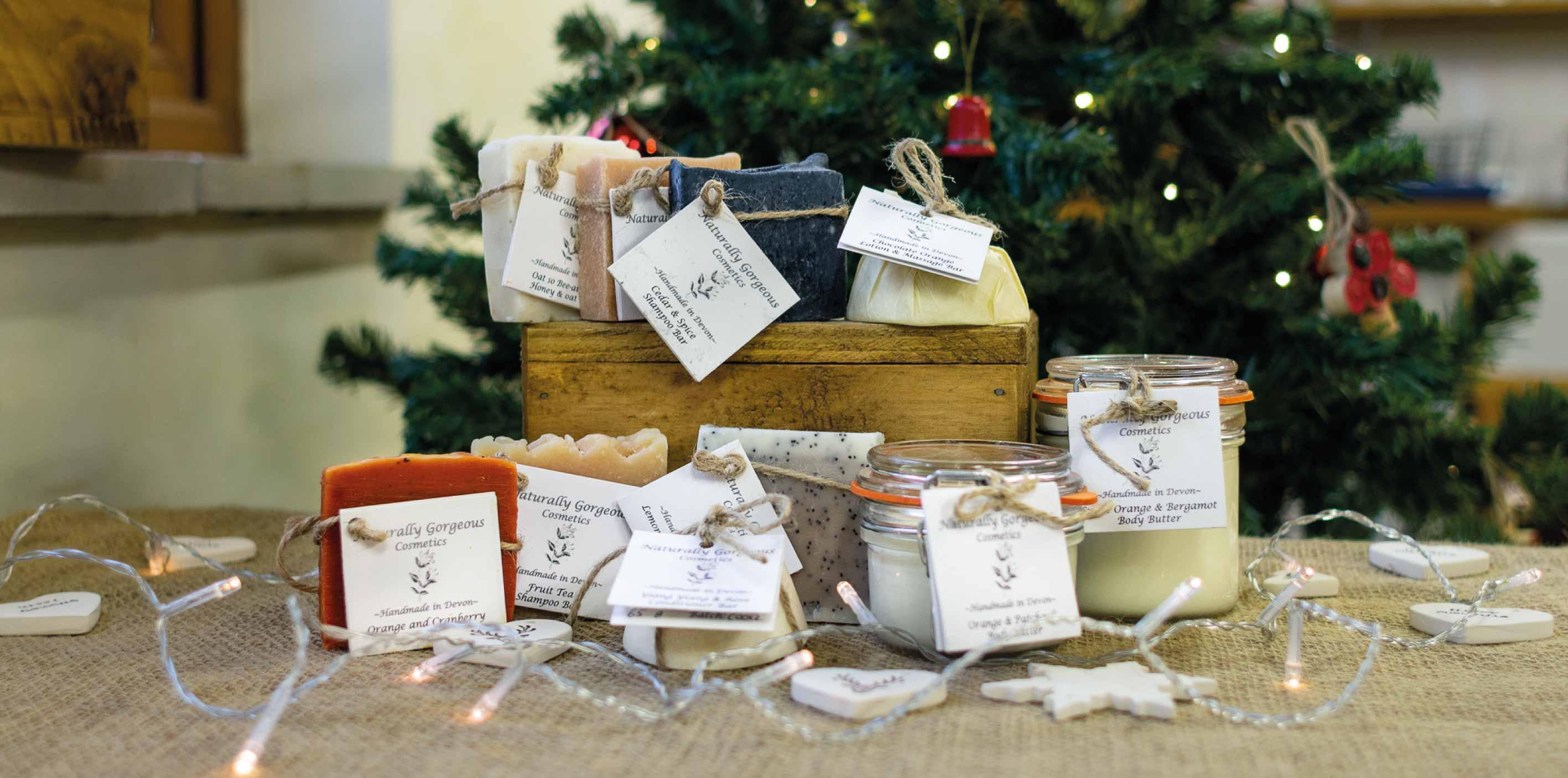 Buy local cosmetics this Christmas at Alder Vineyard